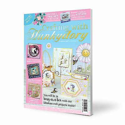 Crafting with Hunkydory Magazine Issue 35 Including FREE Especially For You  KIT