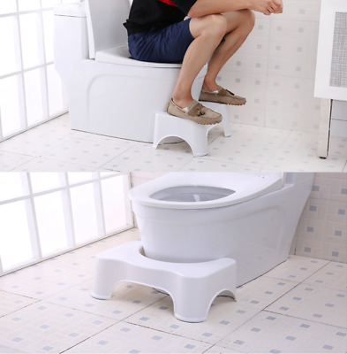 Bathroom Toilet Squatty Eco Stool Potty Squat Aid For Constipation Piles Relief