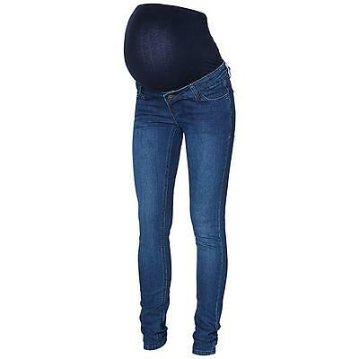 Shelly Maternity Skinny Slim Pregnancy Jeans With Bump Band Mamalicious REDUCED