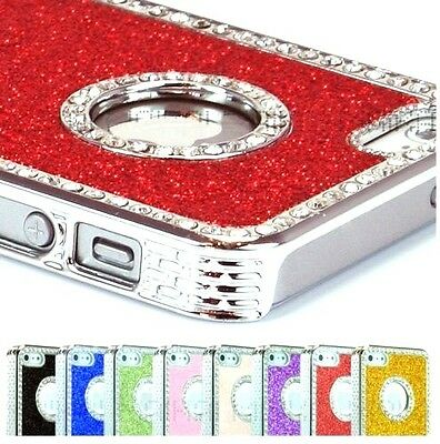 New Luxury Glitter Bling Crystal Diamond Shiny Case For Iphone 4/5/5S/5C/se