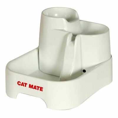 Cat Mate Drink Water Fountain For Pet Dog Filtered Drinking Bowl Dish Well