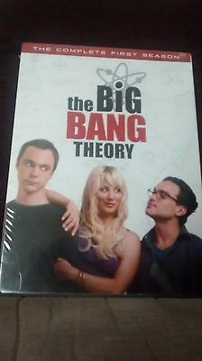 The Big Bang Theory Complete First Season Brand New Sealed DVD