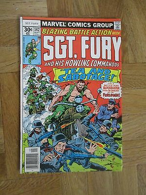 Sgt Fury And His Howling Commandos #142 Very Fine (W12)
