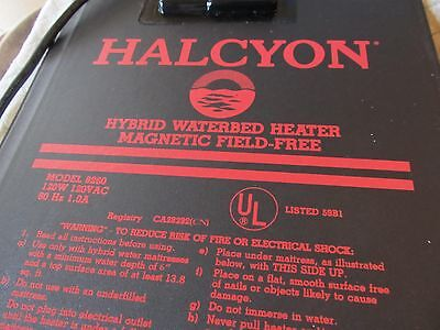 halcyon waterbed heater with control model 6260 magnetic field free