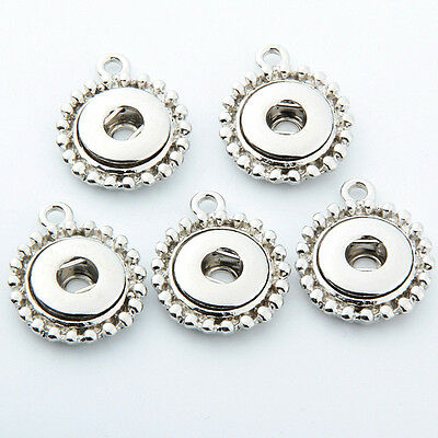 50pcs/pack 12mm snaps Jewelry Accessories fits snap necklace bracelet earrings