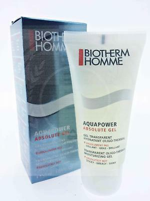 Biotherm Homme Aquapower Absolute Gel 50Ml Moisturizing Face