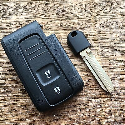 2 BUTTON SMART REMOTE KEY FOB CASE for TOYOTA PRIUS COROLLA VERSO TOY 43 BLADE