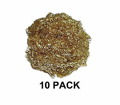 Thermaltronics BC-10 Brass Curls (10 PACK) interchangeable for Metcal AC-BP New