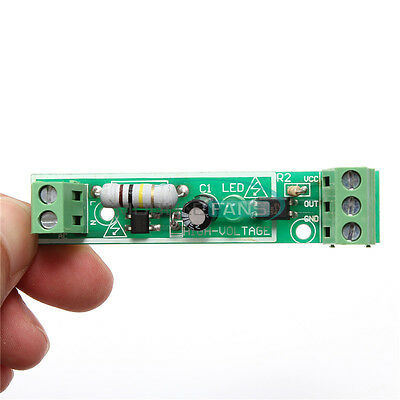 AC 220V 1-CH Optocoupler Isolation Module Voltage Detect Board Adaptive for PLC