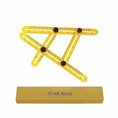 STARRICH Angleizer Template Tool ABS Measures All Angles and Forms Angle-... New