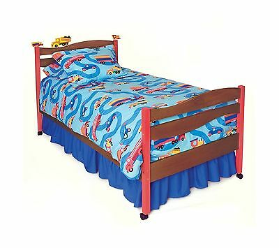 Room Magic Choclate Twin Bed Boys Like Trucks New