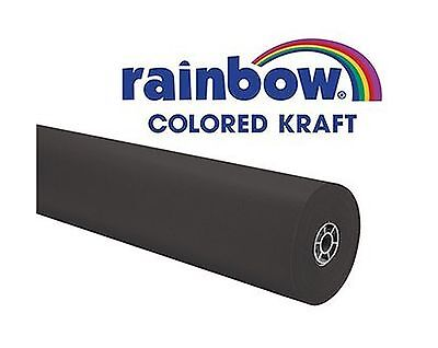 Rainbow Kraft 0066301 Roll 100' Size Black New