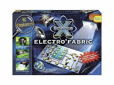 Ravensburger Science X Maxi-Electro'Fabric (Franais/French) New