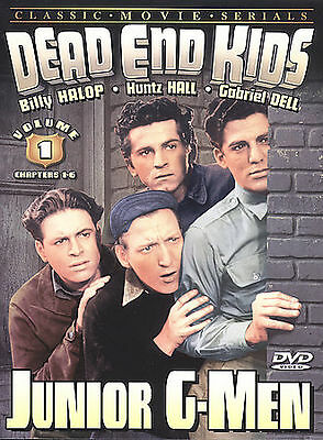 Dead End Kids, Vol. 1: Junior G-Men DVD Region ALL BRAND NEW SEALED