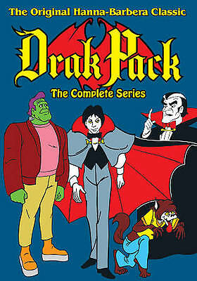 Drak Pack: The Complete Series (DVD, 2011, 3-Disc Set) BRAND NEW SEALED