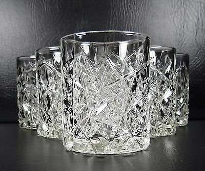 Cristal D'Arques Sculptra Set of 6 Double Old Fashioned Tumblers Glasses