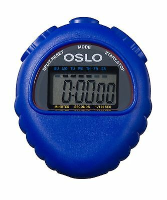 Oslo Robic M427 All Purpose Stopwatch Blue New