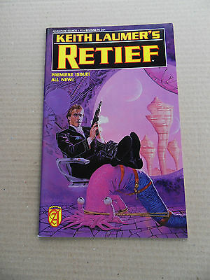 Retief (Keith Laumer's) 1 . Adventure Comics (Malibu) 1989 - FN / VF