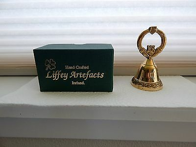 Beautiful Hand Crafted Irish Bell With Original Box. Excellent Condition