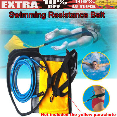 Swim Trainer Belt Swimming Resistance Parachute Drag Pool Hydrotherapy Training