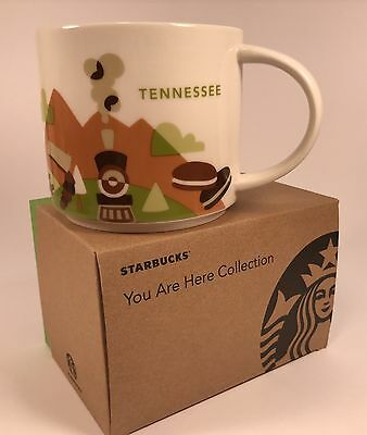 New Starbucks You Are Here Series Tennessee 14oz Mug in Original Box with Sku