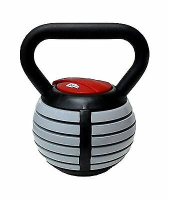 CFF 1791-AKB Adjustable Russian Kettlebell Weights Includes DVD 40-Pound New