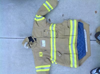 Morning Pride Turnout Gear Coat size 42 46 48  C193-200 Firefighter Halloween