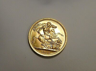 1966 Great Britain Sovereign gold coin- uncirculated