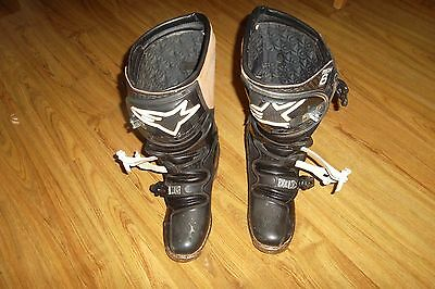 Alpinestars Genuine Tech 6 Motocross Boots Size 9 (43) Pre owned