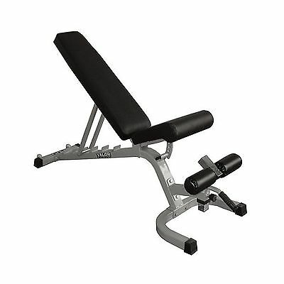 Valor Fitness DD-25 Adjustable FID Utility Bench with Wheels New