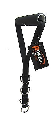 STIRRUP Strap/Handle Cable Gym Machine Attachment 4 D-Rings Adjustable New
