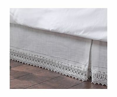 Stylemaster Renaissance Home Fashion Sophia Dust Ruffle/Bed Skirt Queen I... New