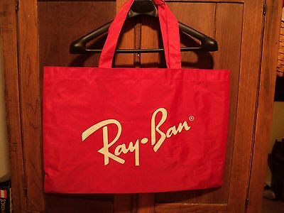Red Rayban Bag - beautiful condition vintage ray ban bausch & lomb rare