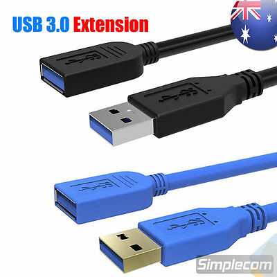 USB 3.0 SuperSpeed Extension Cable Type A Male to Female 0.5M 1.0M 1.2M 1.5M