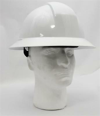 North A119R Everest Full Brim Hard Hat - ANSI Type II Compliant - White