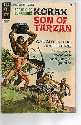 Korak, Son of Tarzan # 18 - VG 4.0 - 1967 Gold Key