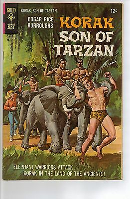 Korak, Son of Tarzan # 19 - FN/VF 7.0 - 1967 Gold Key