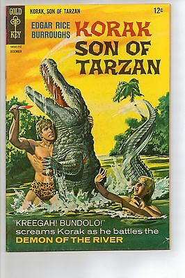 Korak, Son of Tarzan # 20 - FN+ 6.5 - 1967 Gold Key