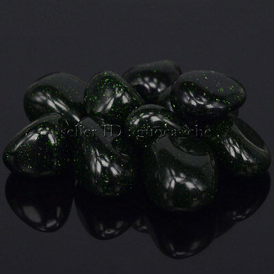 Polished Freefrom Tumbled Nice Green Sand Stone For Energy Crystal Healing Wicca