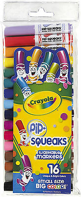 Crayola Pip-Squeaks Markers-Pack of 16