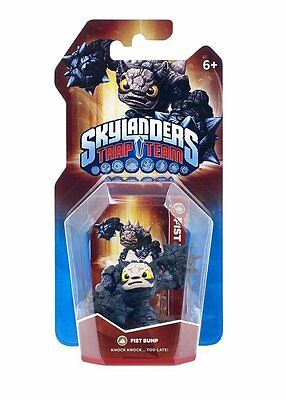 Skylanders TRAP TEAM >>FIST BUMP<< Earth / Erde Element Figur - NEU & OVP