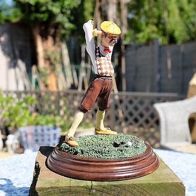 Country Artists CA912 Golfer Figurine Handcrafted in England