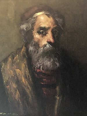"Vintage 1900""s oil paintings  Portrait Of A Gentleman Oil On Canvas"