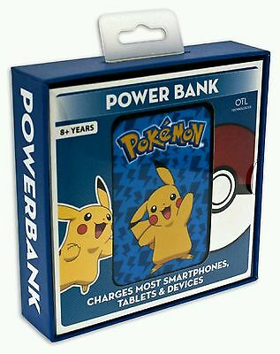 Pokemon Pikachu Power Bank