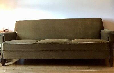 60's Vintage Danish Three-Seat Sofa