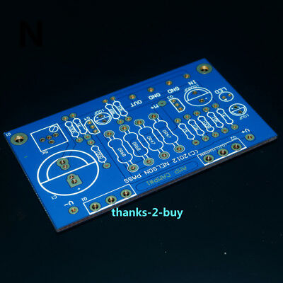 5W FET CLASS A MOSFET Audio Power Amplifier PCB Board Bass on F2 AMP
