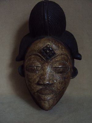 SALE - WAS $225 PUNU MASK African Carving Statue!!