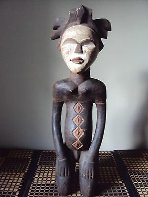 SALE -WAS $225 RARE TSOGHO Female Woman Statue African Carving + FREE SHIPPING!!
