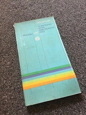 Official Guide To The Games Of The XXth Olympiad 1972 Munich Olympic Games