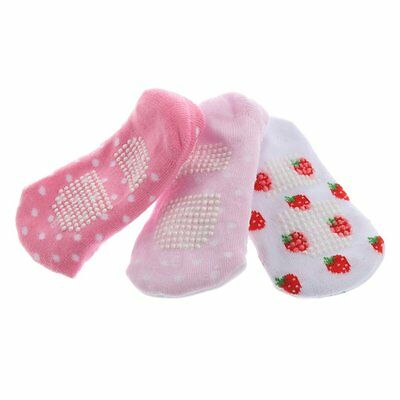 Cotton Blends Infant Toddler Ba's Cartoon Pattern Non-slip Ankle Socks SN